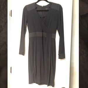 Ann Taylor size 0 navy blue dress